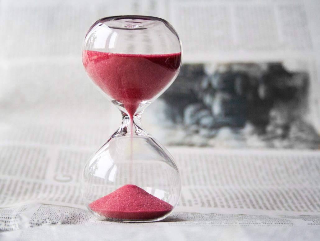 disciplining your child hourglass