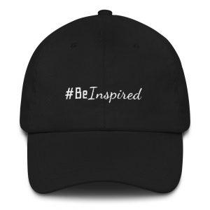 #Be Inspired baseball hat