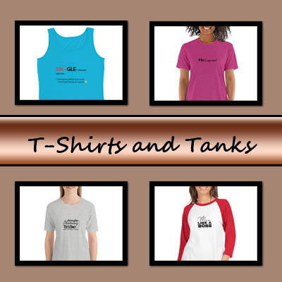 tshirts and tanks